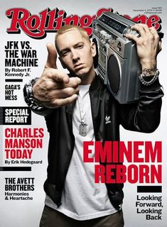 Eminem he just gets better with age in   every way!!  did I forget to mention he's from   Michigan!!!!!