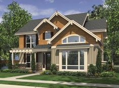 Eplans Craftsman House Plan - Four Bedroom Craftsman - 2441 Square Feet and 4 Bedrooms(s) from Eplans - House Plan Code HWEPL67351