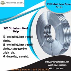Top leading exporter, manufacturers of 201 stainless steel strips, ASTM SS 201 strips, AISI 201 Strips at very affordable prices from Mumbai, India. Stainless Steel Strip, Thermal Expansion, Physical Properties, Cold Rolled, Heat Treating, Steel Metal, Mumbai, India, Top