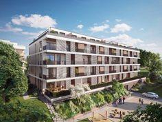Bildergebnis für betreutes wohnen niederösterreich GFW Multi Story Building, Modern, House, Assisted Living, New Construction, Real Estate, Hamburg, Projects, Pictures