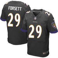 #29 Justin Forsett Baltimore Ravens Elite Jersey