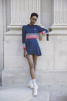 Sneaker outfit - Fila Heritage FW17