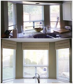 Find This Pin And More On Kitchen Sink Window Treatments By Urban  Aesthetics.