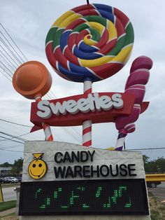 The Largest Candy Store In Ohio: b.a. Sweetie Candy Company