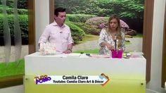 Porta chaves falso ripado - Camila Claro