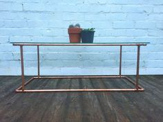 Revolution Copper Coffee Table