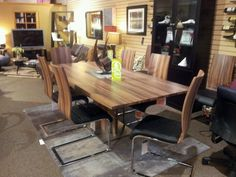 Valencia Dining Table And Sanibel Chairs Now On Floor At Forma Furniture As Of 11 Fort Collinsline