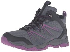 Merrell Womens Capra Rise Mid Waterproof Hiking Boot GreyPurple 95 M US * See this great product.(This is an Amazon affiliate link and I receive a commission for the sales)