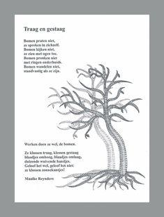 Tree in bobbin lace