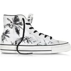 Converse Limited Edition Shoes Star Player Ev High Top Black/White... found on Polyvore