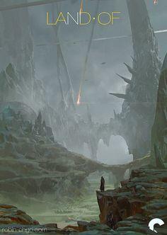LAND OF - Origins, Robin Chyo on ArtStation at https://www.artstation.com/artwork/land-of-origins