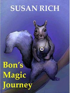 Book cover, a rough design just to keep me inspired. A fantasy thriller love story told through the lens of addiction, obsession, and loss. Don't let the squirrel fool you. He's not a nice guy...http://richwriting.com/category/a-few-good-stories/bons-magic-journey/