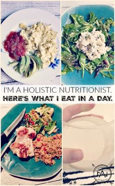 I'm a holistic nutritionist. Here's what I eat in a day.