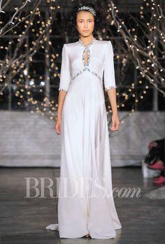 Jenny Packham Wedding Dresses Fall 2014 Bridal Runway Shows Brides.com   Wedding Dresses Style   Brides.com