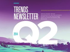 GRAPE TRENDS NEWSLETTER Q2 2014 by GRAPE via slideshare