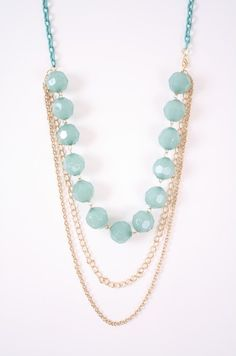 Chunky Bead Necklace - Necklaces - Shop