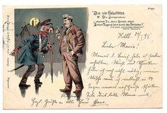 Litho Studentika DIE 4 Fakultäten Jurisprudenz Heidelberg 1898 Erich Kleinhempel | eBay