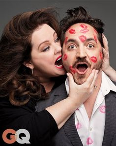 Melissa McCarthy and Ben Falcone: Comedy& Top Power Couple Famous Couples, Funny Couples, Couple Posing, Couple Shoot, Couple Ideas, Melissa Mccarthy And Husband, Ben Falcone, Hugh Dancy, Hollywood