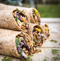 Here's an amazing dish that's portable and chock full of good flavours and ingredients. The combination of wheat berries, rice, and shredded vegetables is perfect for a mountain-biking expedition, backyard …