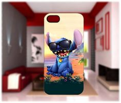 Stitch Glasses Case For iPhone 4/4S iPhone 5 Galaxy S2/S3/S4 | GlobalMarket - Accessories on ArtFire