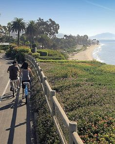 Bike Ride, approaching Butterfly Beach