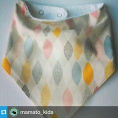 Baberos bandana #bandanabibs #kids #mamato https://m.facebook.com/mamatokids?ref=bookmark