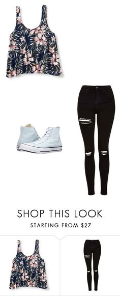 """Untitled #435"" by austynh on Polyvore featuring Aéropostale, Topshop and Converse"