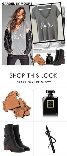 """GARDEL BY MOORE"" by gaby-mil ❤ liked on Polyvore featuring Bobbi Brown Cosmetics, Chanel, Christian Louboutin and gardelbymoore"