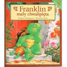Franklin się przechwala i nawet nie zauważa, kiedy zaczyna kłamać. Jak uda mu się wybrnąć z zaistniałej sytuacji? #księgarnia #internetowa #warszawa #animos #polecamy #książka #dzieci #Franklin Cover, Books, Libros, Book, Book Illustrations, Libri