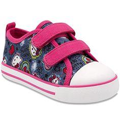 fd7645044aa8 Hello Kitty Girls  Sneakers - denim blue