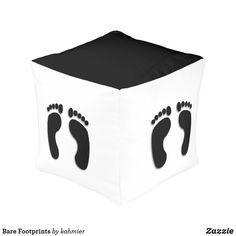 Bare Footprints Pouf
