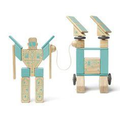 Best Gifts For Boys: Tegu Magnetron Magnetic Wooden Block Set