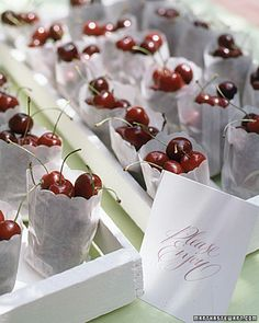 Cherry Favors (This is sweet, is there a nursery rhyme involving cherries? Or a berry?)