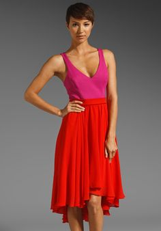 b1f726720a Shop for Black Halo Francis Dress in Hibiscus   Pink Baret at REVOLVE.
