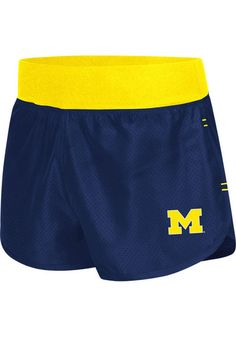 Michigan Wolverines Womens Athletic Shorts http://www.rallyhouse.com/shop/michigan-wolverines-womens-shorts-navy-blue-wolverines-sprint-active-shorts-15033079?utm_source=pinterest&utm_medium=social&utm_campaign=Pinterest-MichWolverines $29.99