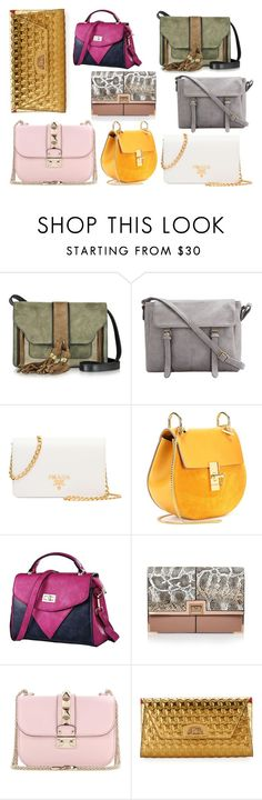 """""""bags"""" by piksaevama on Polyvore featuring L'Autre Chose, Prada, Chloé, River Island, Valentino и Christian Louboutin"""