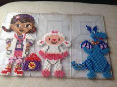 Doc McStuffins Hama Perler Beads