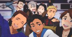 """Which Character From """"Yuri!!! On Ice"""" Are You?  I got Otabek. I don't really think that's me lol"""