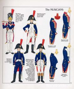 1810-13: French Imperial Guard, Grenadiers a Pied, Fifer & Musicians