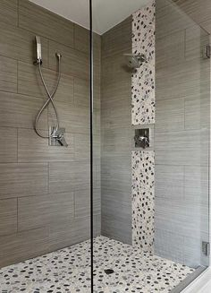 Our bathroom shower wall tile.at Home Depot.MS International, Metro Charcoal 12 in. x 24 in. Glazed Porcelain Floor and Wall Tile sq. / case), at The Home Depot - Mobile Shower Tile, Bathroom Tile Designs, Shower Remodel, Bathroom Remodel Shower, Bathrooms Remodel, Bathroom Makeover, Shower Design, Tile Bathroom, Master Shower