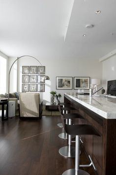 West side penthouse style  Vancouver BC Condo Home Staging