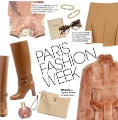 Paris Fashion Week Collage, GET THE LOOK NOW!
