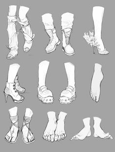 Feet and Boots References by CoyoteCanine on DeviantArt