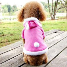 Aliexpress.com: Comprar Encantador lindo chaquetas Warm los mascotas Fleece con capucha Outwear Apparel envío y envío de caída libre de sudadera con capucha conjunto fiable proveedores en Loving  Fashion