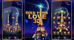 https://flic.kr/p/SG6THy | Paris Gold Eiffel Tower 3D Theme | Paris Gold Eiffel Tower 3D Theme #parisgoldeiffeltower3d Theme is for #androidusers. Paris Gold Eiffel Tower 3D Theme has a #bigpurple #eiffeltower wallpaper with how Paris Gold Eiffel Tower 3D Theme Looks In The Night. As This is a 3D Theme You Can See Revolving Eiffel Tower on your mobile screen and also when you tap this live Eiffel Tower On your Screen you can see live Golden Eiffel Tower. While reading all This what are…