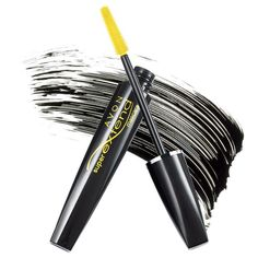 Impossibly long! Available in Black only.  Your eyes won't believe your lashes. In just one step, lashes go to super glamorous lengths. No extensions needed. Visibly lengthens lashes 35%.* Unique super-smooth, super-separating molded brush works with our unique super-stretch formula to coax and comb every lash up, out and away…beyond your wildest expectations! Innovative stretch-formula with unique triangular-shape fibers lenthen lashes beyond belief…with a sleek, shiny, super-sexy finish…