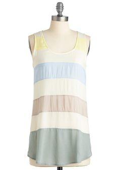 Let Me Sea Tunic | Mod Retro Vintage Short Sleeve Shirts | ModCloth.com