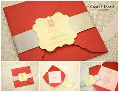 Pochette Style B1: www.paperpresentation.com