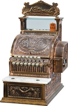 National Cash Register Candy Store Model No. 313 w