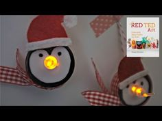 Christmas Crafts - Tea Light Penguin Ornaments for Christmas, My Crafts and DIY Projects